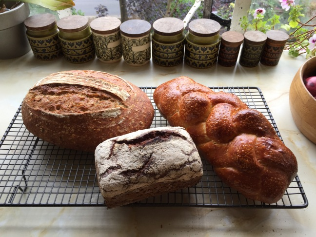 Just a few of the loaves I made over the weekend...